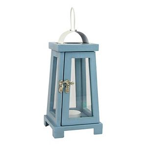 Stonebriar Collection Vintage Wood Candle Lantern