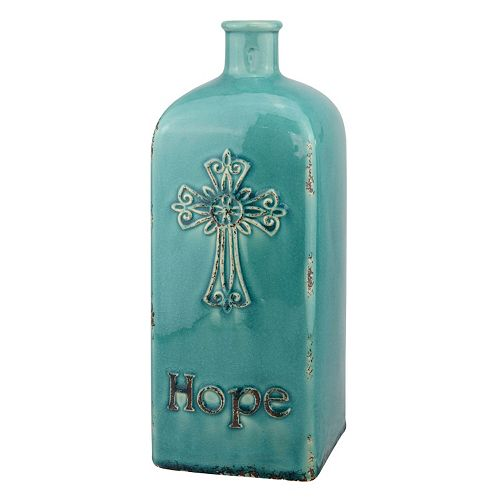 "Stonebriar Collection Vintage ""Hope"" Vase"