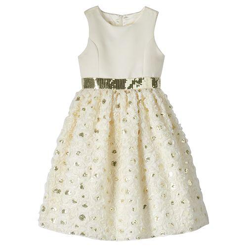 Girls 7-16 American Princess Soutache Dress