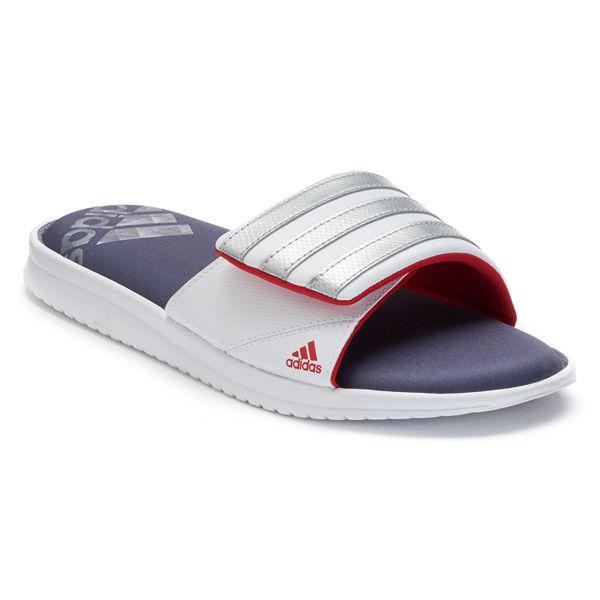 Privación Cambio Aditivo  adidas Zeitfrei FitFOAM Men's Slide Sandals