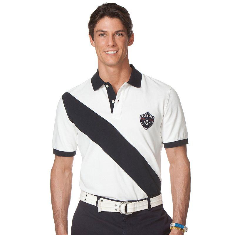 Big & Tall Chaps Williamson Polo