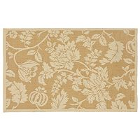 Trans Ocean Imports Liora Manne Terrace Floral Indoor Outdoor Rug
