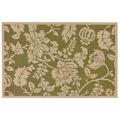 Liora Manne Terrace Floral Indoor Outdoor Rug