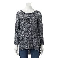 Juniors' JJ Always Cable-Knit Sweater