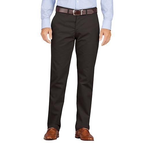 Men's Dickies Slim-Fit Wrinkle-Resistant Khaki Dress Pants