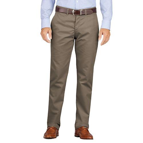 Men's Dickies Slim-Fit Wrinkle-Resistant Khaki Pants