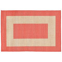 Liora Manne Terrace Border Indoor Outdoor Rug