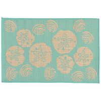 Trans Ocean Imports Liora Manne Terrace Shell Toss Indoor Outdoor Rug