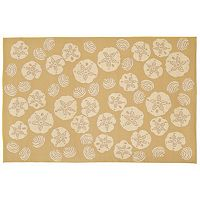 Liora Manne Terrace Shell Toss Indoor Outdoor Rug