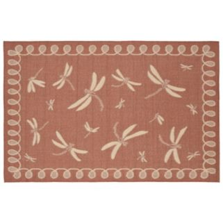 Trans Ocean Imports Liora Manne Terrace Dragonfly Indoor Outdoor Rug