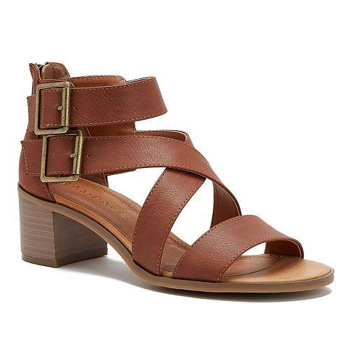 Rampage Havarti Women's Block-Heel Sandals