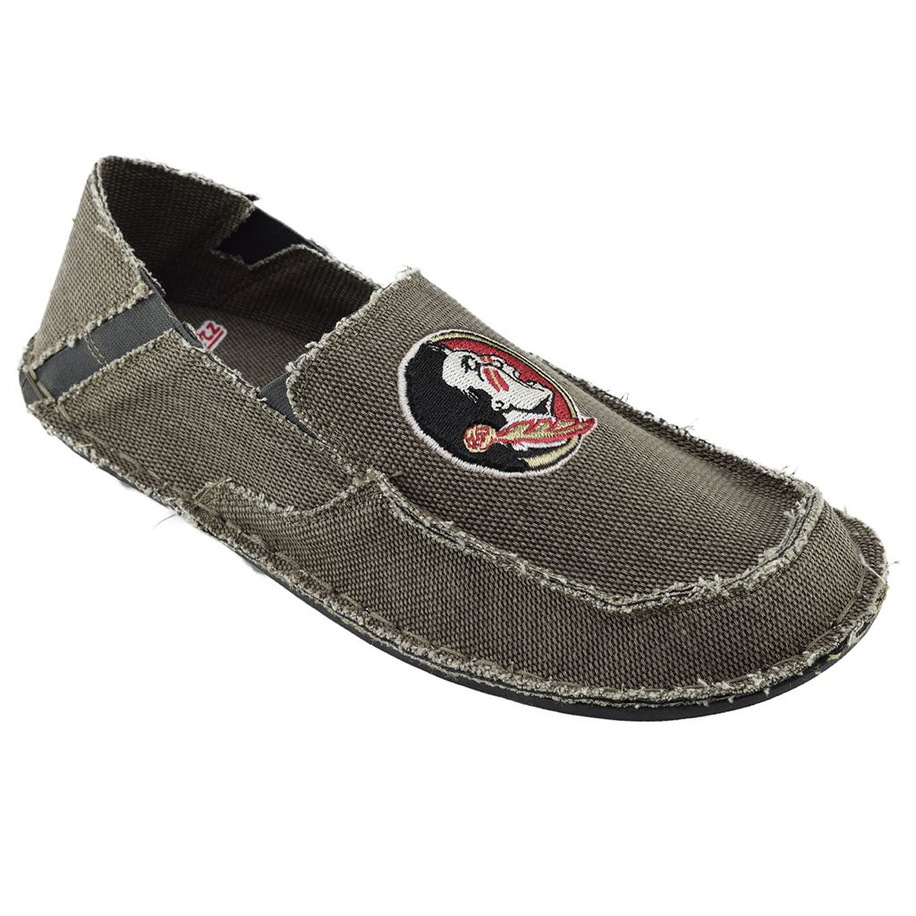 Men's Florida State Seminoles Cazulle Canvas Loafers