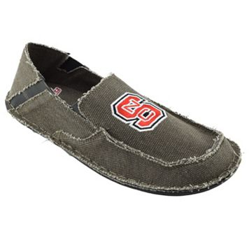 Men's North Carolina State Wolfpack Cazulle Canvas Loafers
