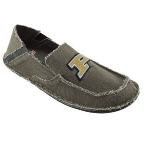 Men's Purdue Boilermakers Cazulle Canvas Loafers