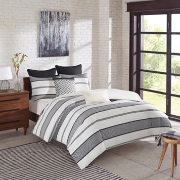 INK+IVY Kora 3-piece Duvet Cover Set