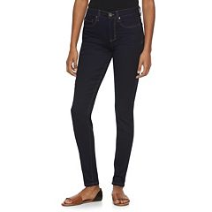 Juniors' Mudd® High-Waisted Denim Jeggings