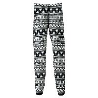 Girls 7-16 & Plus Size SO® Graphic Print Sweater Leggings