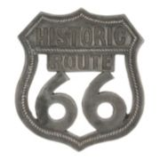 "Stonebriar Collection ""Route 66"" Aluminum Wall Art"