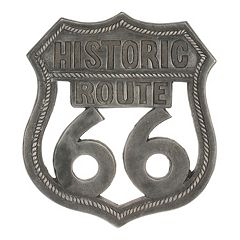 Stonebriar Collection 'Route 66' Aluminum Wall Art