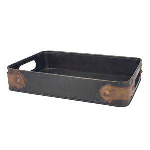 Stonebriar Collection Antique Metal Tray