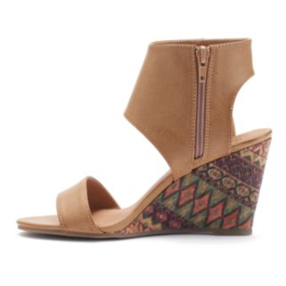 Rampage Winnie Women's Wedge Sandals