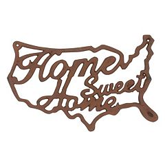 Stonebriar Collection 'Home Sweet Home' Industrial Wall Decor