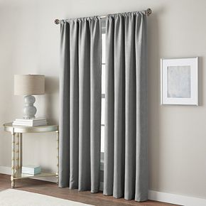 Peri 1-Panel Dotted Wave Window Curtain