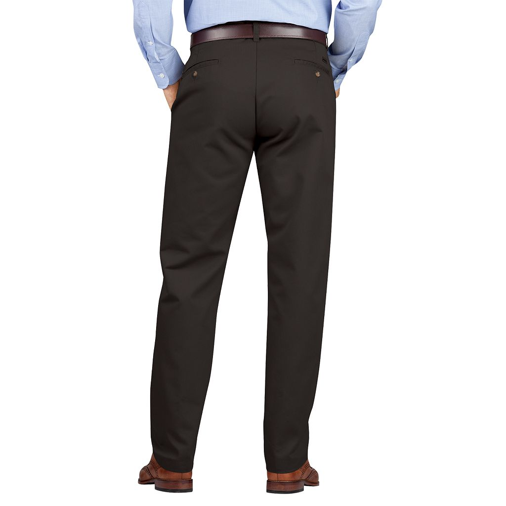 Men's Dickies Regular-Fit Wrinkle-Resistant Khaki Dress Pants