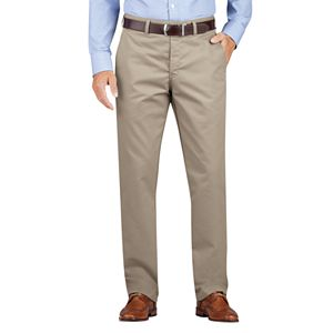 Men's Dickies Regular-Fit Wrinkle-Resistant Khaki Dress Pants