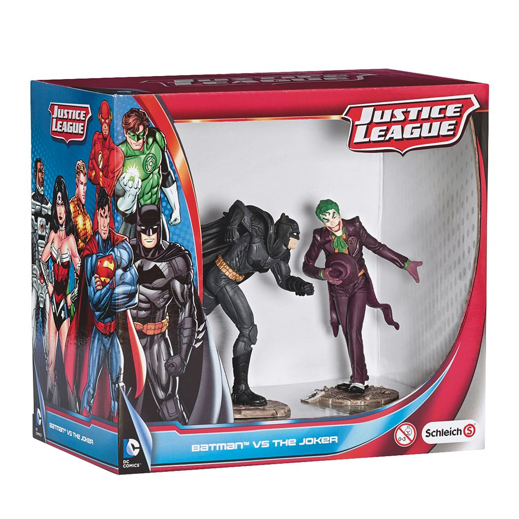 Schleich Batman vs. The Joker Justice League Figurine Set