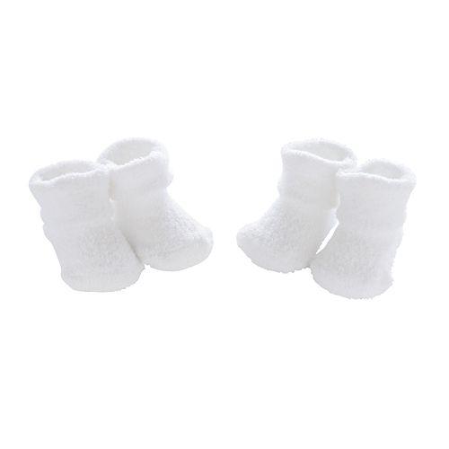 Baby Carter's 2-pk. White Chenille Socks