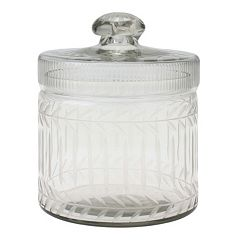 Stonebriar Collection Cut Glass Trinket Container