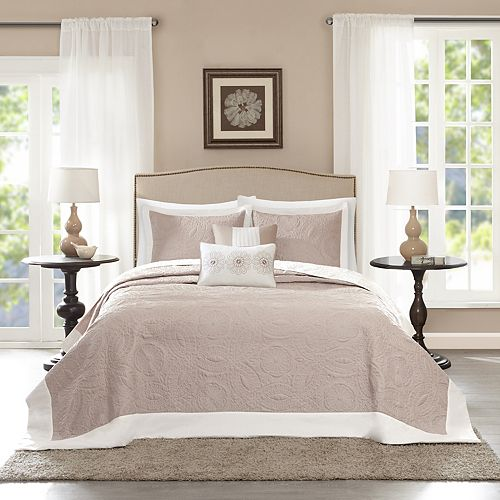 Madison Park Stanton 5-piece Reversible Bedspread Set