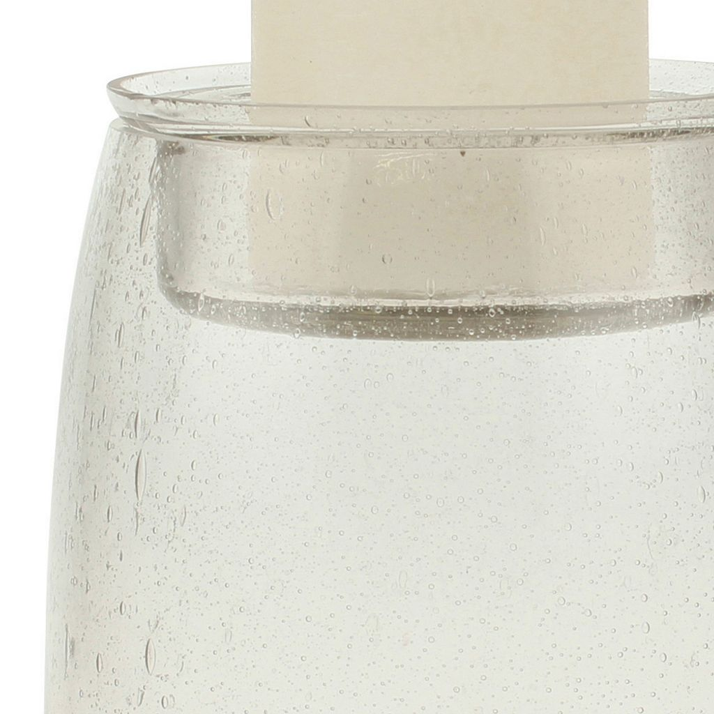 Stonebriar Collection Medium Fillable Pillar Candle Holder
