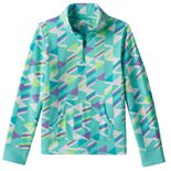 Girls 7-16 & Plus Size SO® Microfleece 1/4-Zip Pullover Jacket