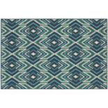 StyleHaven Maritime Tribal Ikat Indoor Outdoor Rug