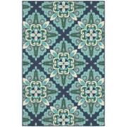 StyleHaven Maritime Overscale Floral Indoor Outdoor Rug