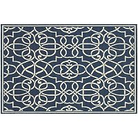 StyleHaven Maritime Fretwork Indoor Outdoor Rug