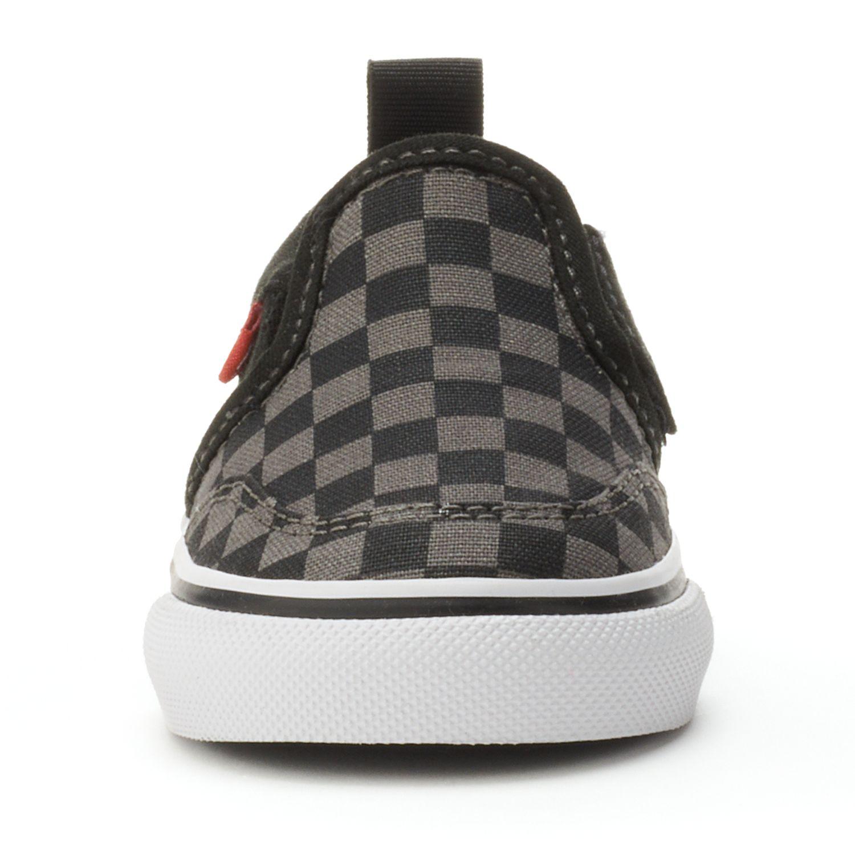 vans checkerboard slip on kohls