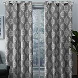 Exclusive Home 2-pack Medallion Blackout Window Curtains