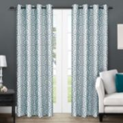 Exclusive Home 2-pack Trike Geometric Thermal Window Curtains - 54'' x 84''