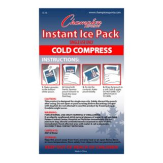 Champion Sports 16-pack Instant Cold Compress Ice Packs