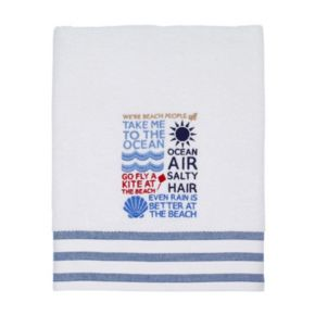 Avanti Beach Words Bath Towel