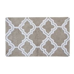 Chesapeake Double Quatrefoil 2-Piece Bath Rug Set