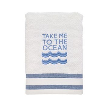 Avanti Beach Words Hand Towel