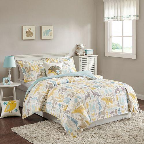 INK+IVY Kids Woodland Bed Set