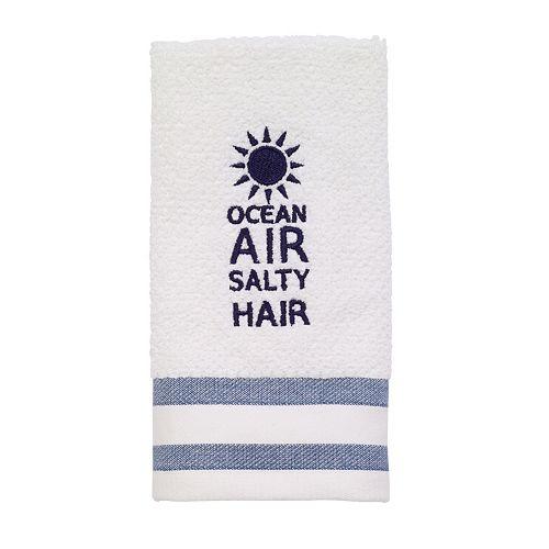 Avanti Beach Words Fingertip Towel