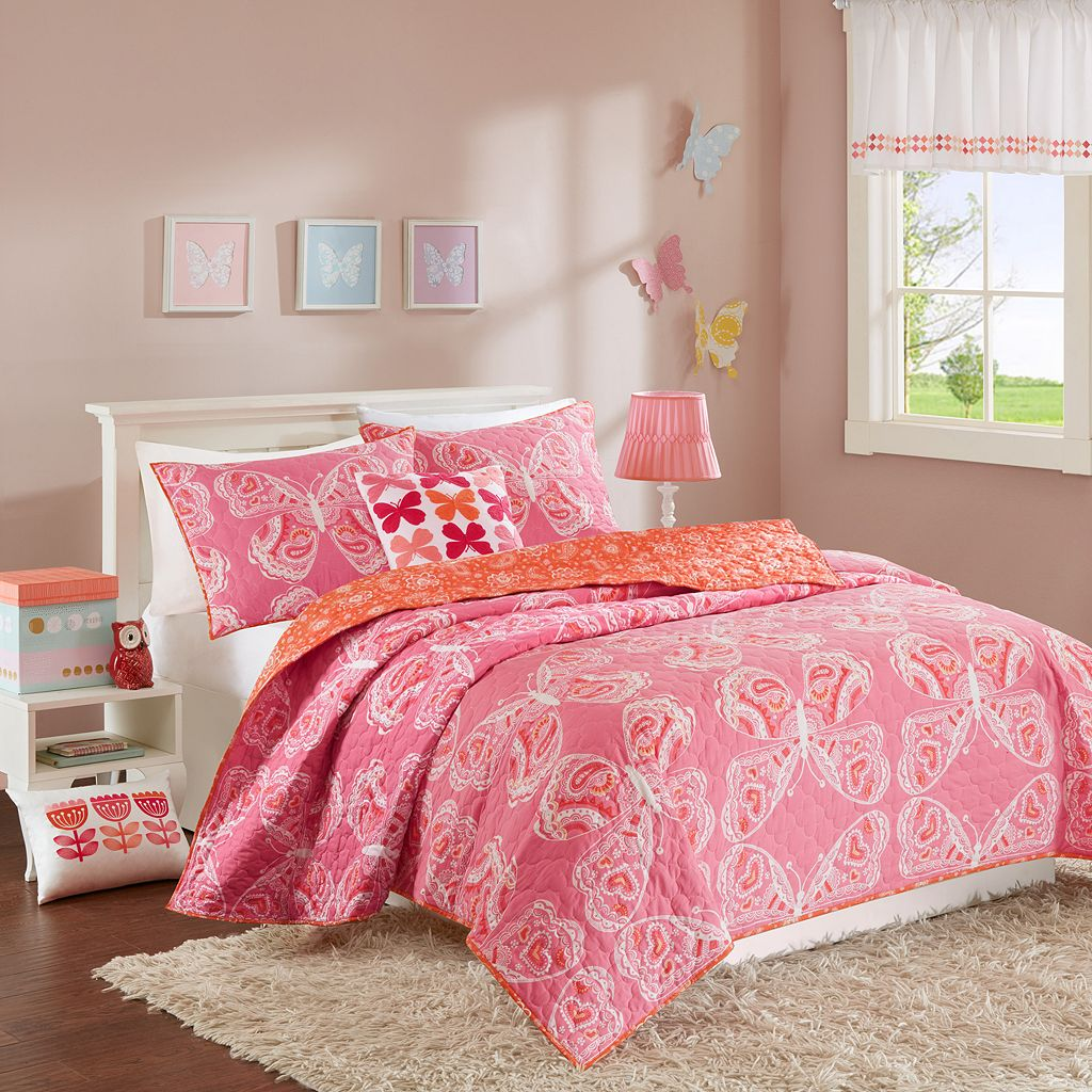 INK+IVY Kids Julia Coverlet Set