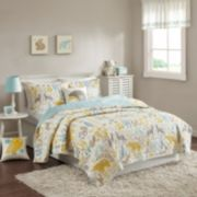 INK+IVY Kids Woodland Coverlet Set