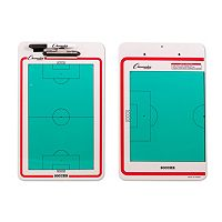 Champion Sports Soccer Coaches Dry Erase Clipboard
